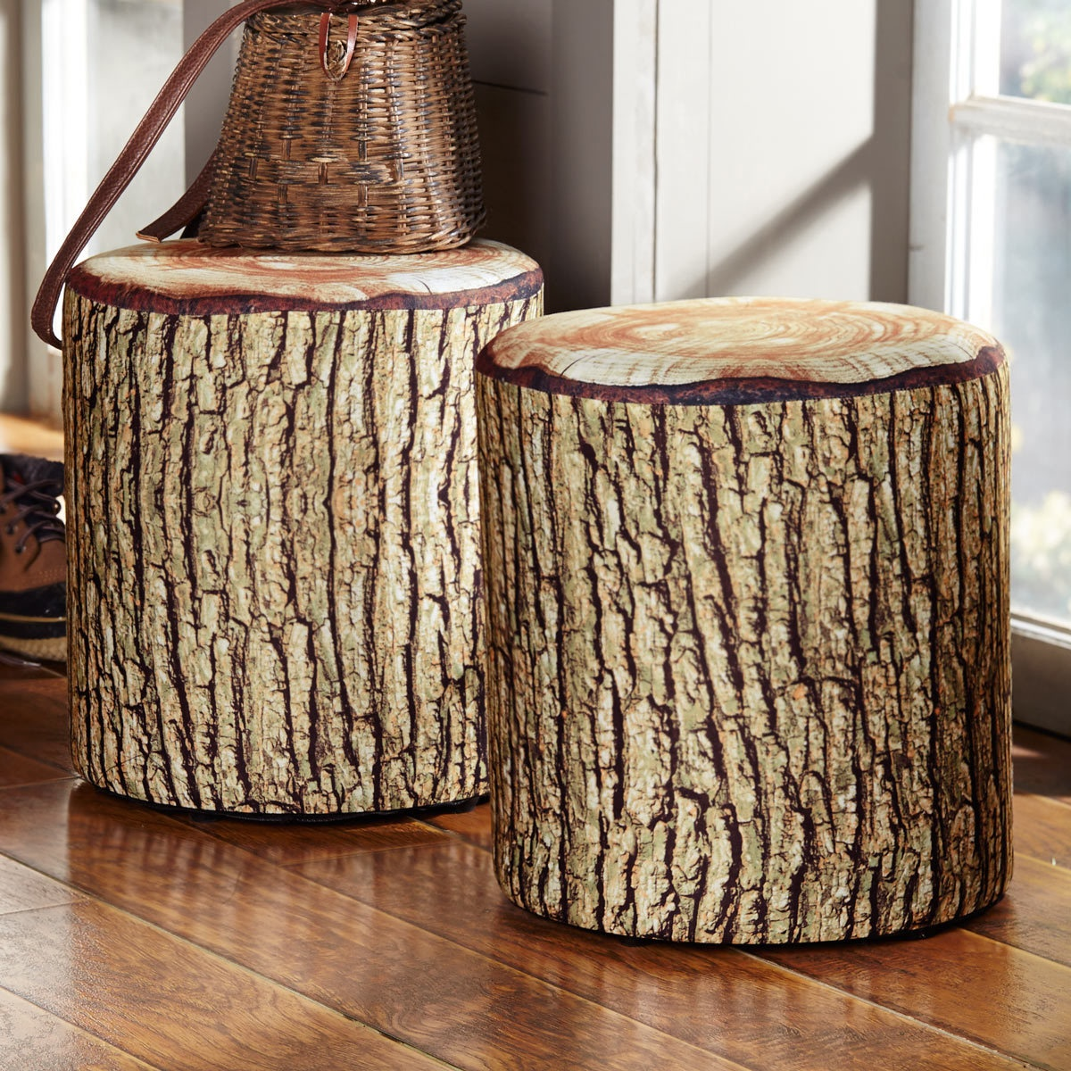 rustic accent furniture with moose bear designs black forest decor cushioned tree bark log seat wood table fire pit set oriental desk lamp modern occasional tables pier imports