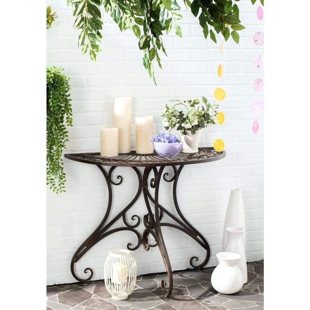 rustic accent table white kosrradionetwork outdoor brown iron round lamps and oak bedside garden furniture high top height rubber carpet edging trim cabinet legs usb coffee square