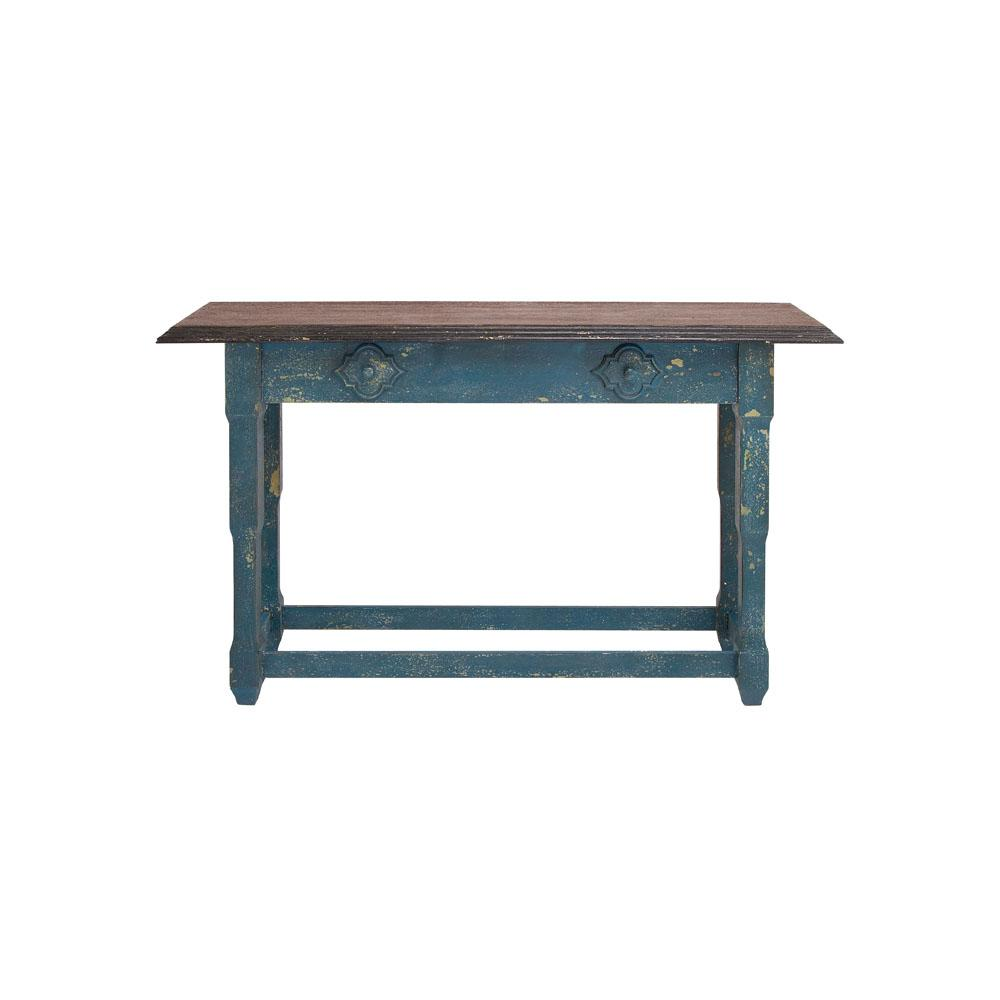 rustic accent tables living room furniture the blue litton lane console hooper table rectangular distressed and brown wood round chair half modern glass coffee designs monarch