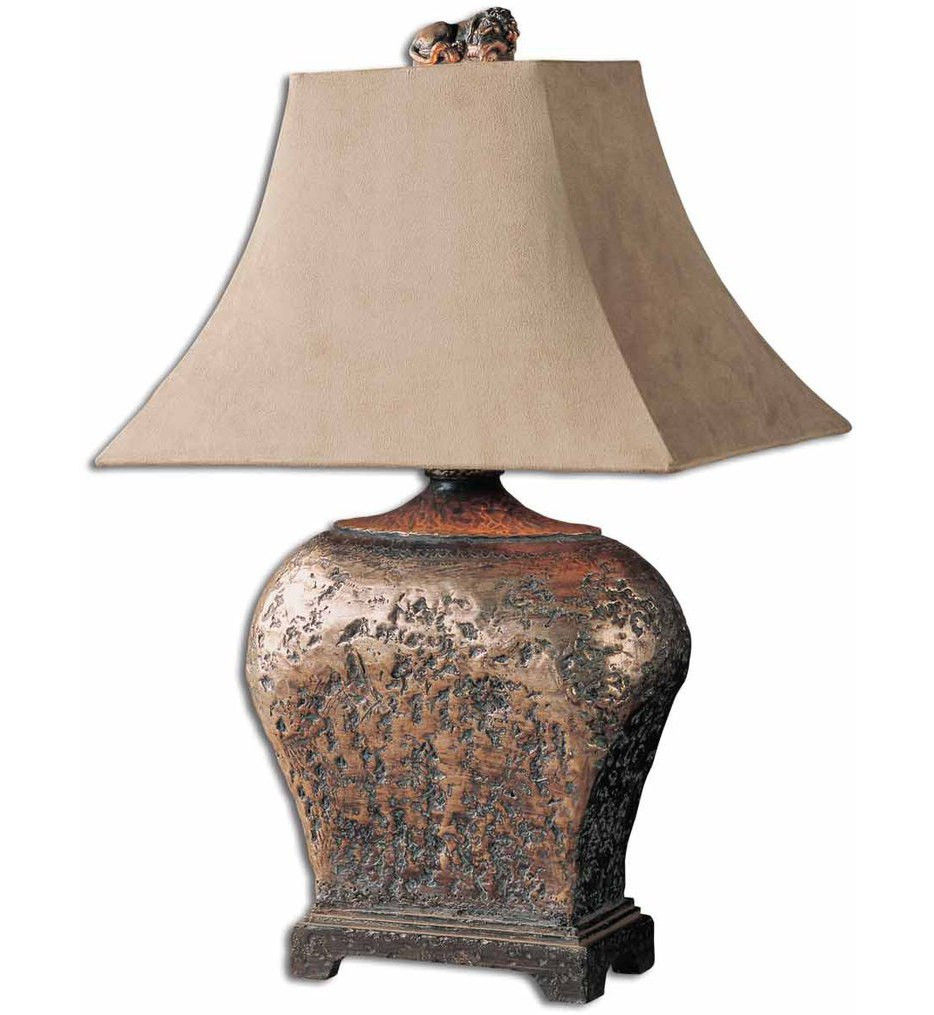 rustic and country table lamps accent uttermost xander lamp wicker furniture covers inch round console garden umbrella weights target metal coffee small antique drop leaf end