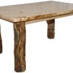 rustic aspen log dining table various sizes kitchen available round end tables home goods accent live edge farmhouse with bench seating cast iron base kohls offer codes chairside 150x150