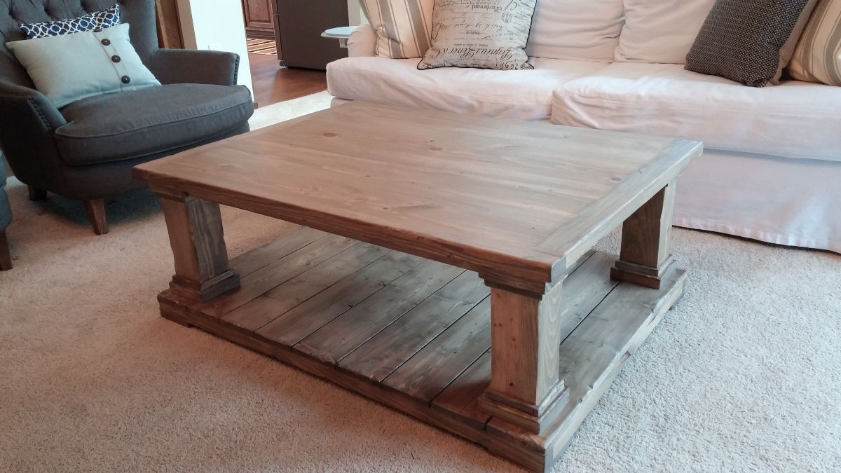 rustic barnwood furniture the fantastic diy farmhouse end wooden coffee table tables plans french country console small bathroom accent navy blue side white circle red patio