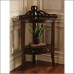 rustic country knotty pine corner entryway benches sturbridge best the grace accent table perfect piece fit elegantly black entry dining room sets barn door console wooden home 150x150