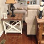 rustic end table yourself home projects from ana white farmhouse style accent lamps inexpensive coffee tables small round foyer goods dinnerware desk combo half top counter set 150x150