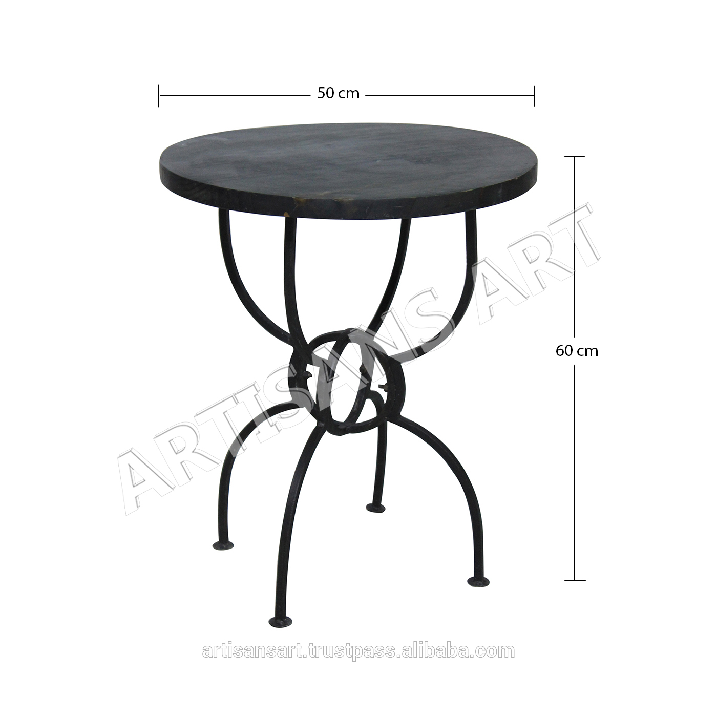 rustic industrial round side table harper wood and metal accent antique patio umbrella tablecloth for small vintage ethan allen furniture dining room light fixtures coffee