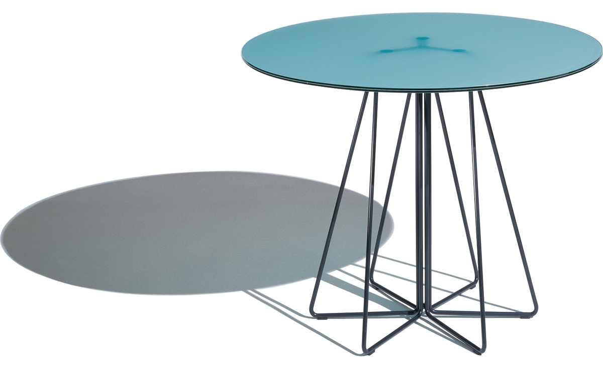 rustic leather furniture the outrageous beautiful teal round end paperclip small table hivemodern massimo vignelli knoll high quality lamps tall side threshold mirrored accent