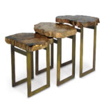 rustic live edge natural popular hardwood end table wood contemporary side tables square accent target floor mirror coastal lamps ikea long marble mosaic leather egg chair lamp 150x150