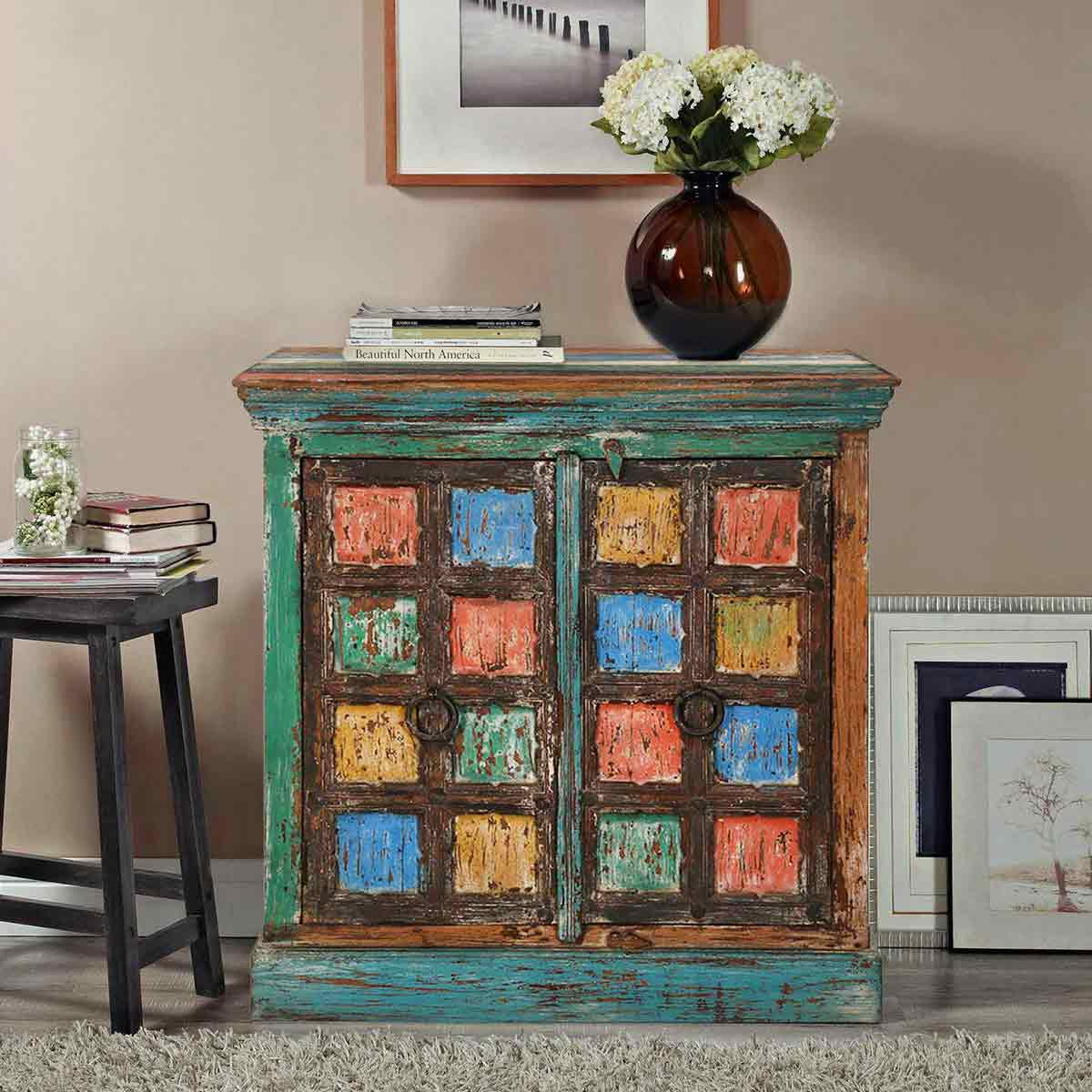 rustic reclaimed wood accent tables table design ideas monty multicolor two door storage cabinet couch covers glass living room set lamps for traditional small grey bedside