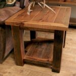 rustic western and country end tables log img corner accent table old sawmill timber frame modern dark wood coffee barn door console battery lamp wooden home decor student desk 150x150
