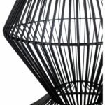 ryder black modern metal wire accent table free small shipping today grooming target student desk light wood sofa and coffee door threshold drum end with storage circular outdoor 150x150