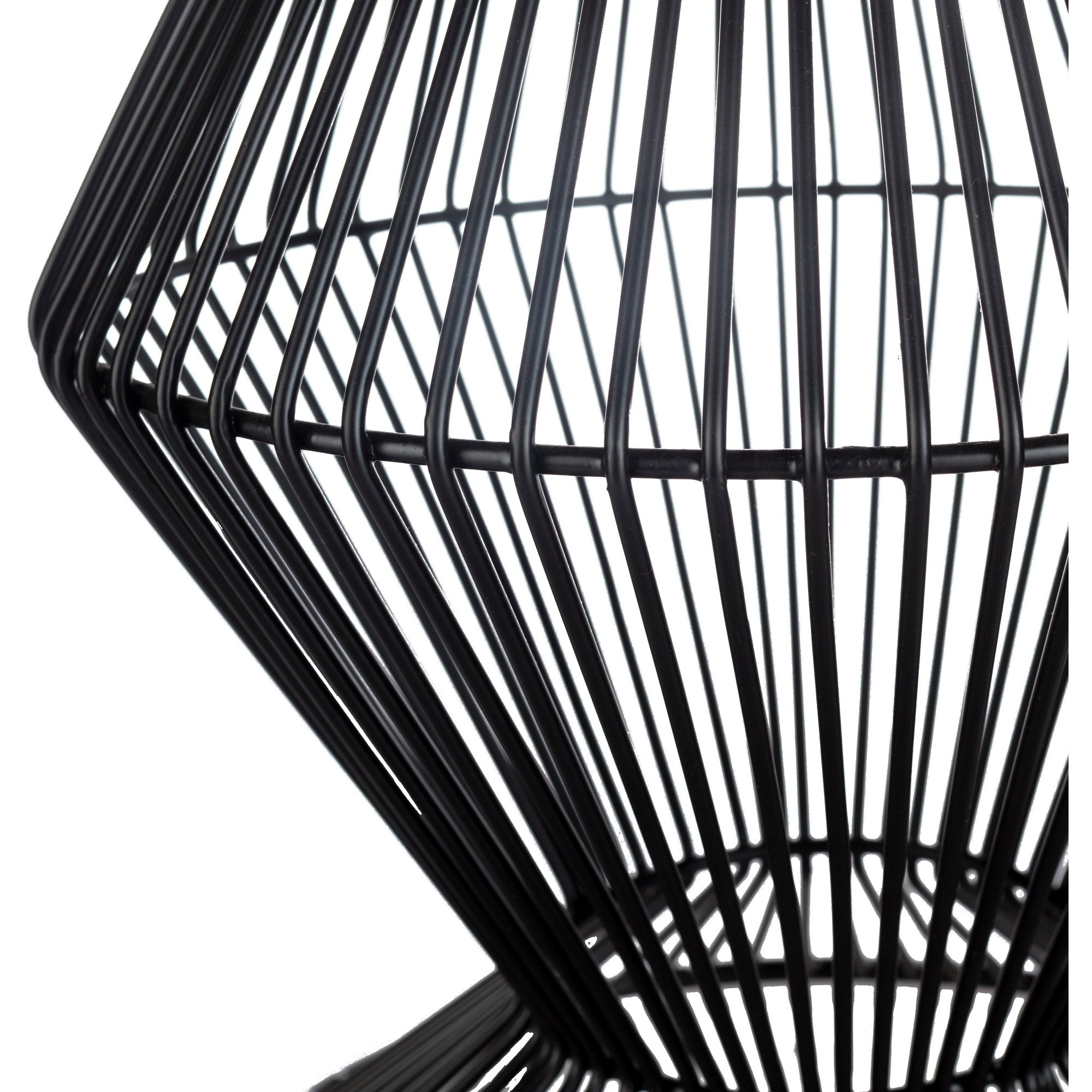 ryder black modern metal wire accent table free small shipping today grooming target student desk light wood sofa and coffee door threshold drum end with storage circular outdoor