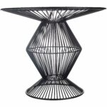 ryder black modern metal wire accent table free small shipping today hampton bay furniture white student desk tiffany style chandelier sofa and coffee mosaic tile outdoor door 150x150