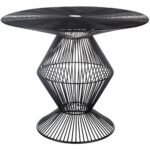 ryder black modern metal wire accent table free small shipping today vintage hexagon side target student desk barn door sofa white short bedside umbrella base weights and tables 150x150