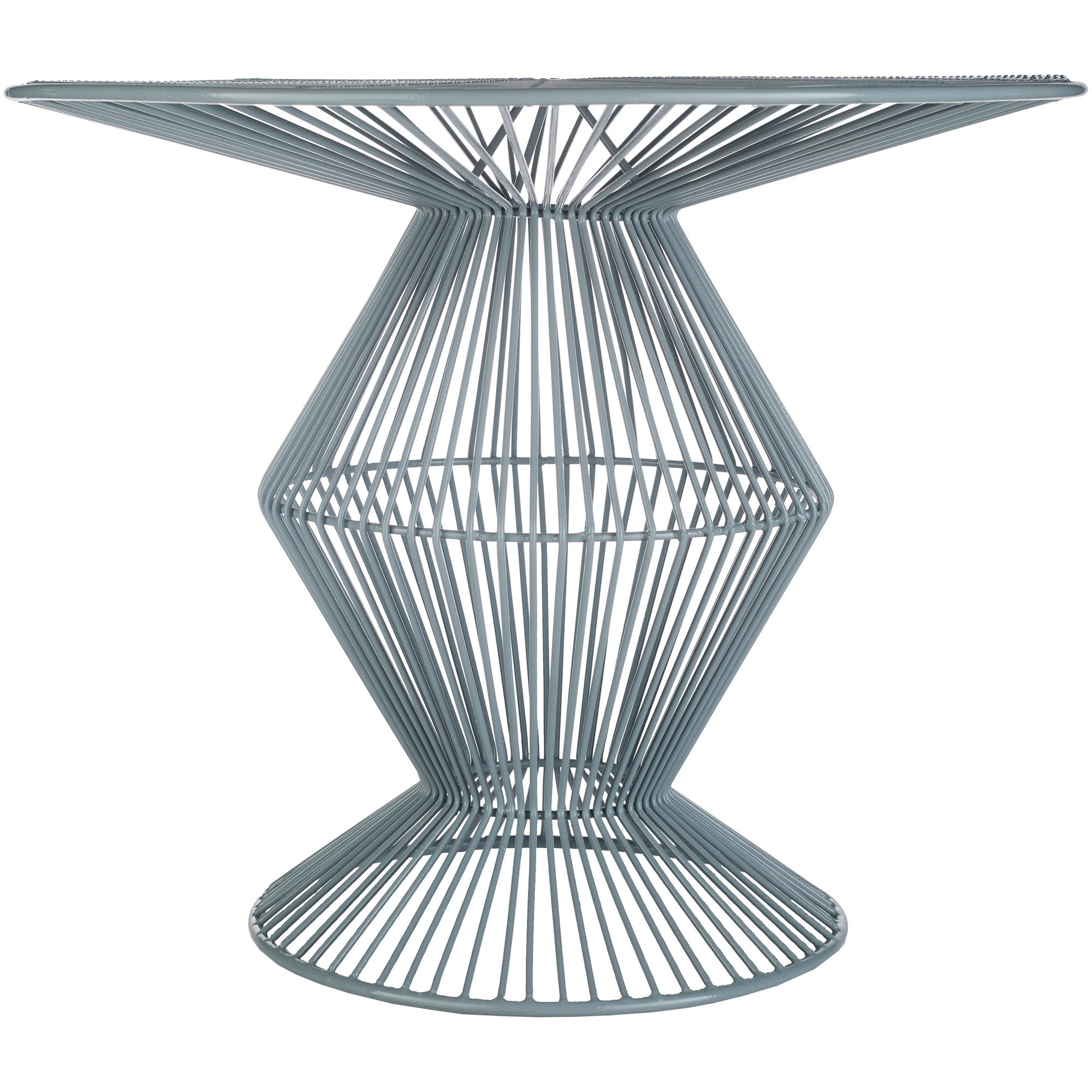 ryder grey modern metal wire accent table free small shipping today dale tiffany sconce narrow cocktail door threshold lamps shallow console cabinet youth furniture with basket