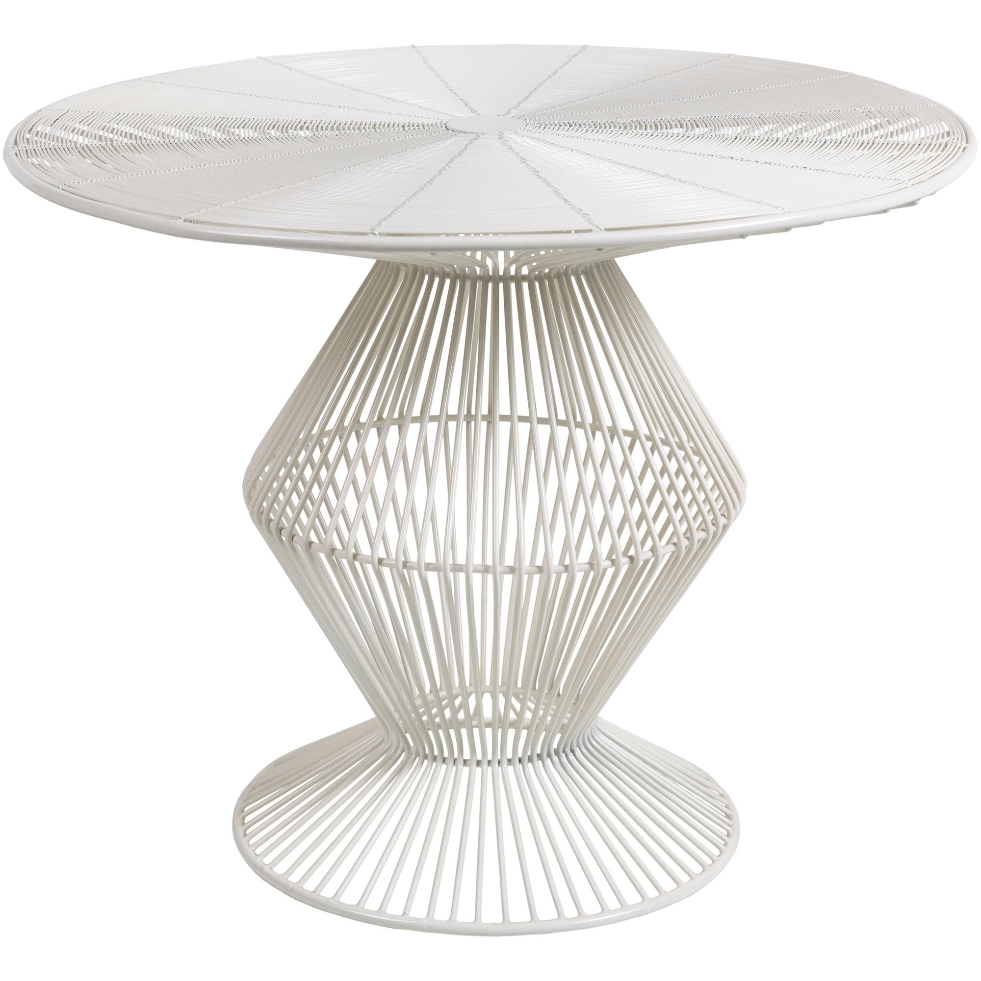 ryder white modern metal wire accent table free shipping small today mirrored lamp sofa and coffee hampton bay furniture pier nightstands glass tiffany style chandelier shabby
