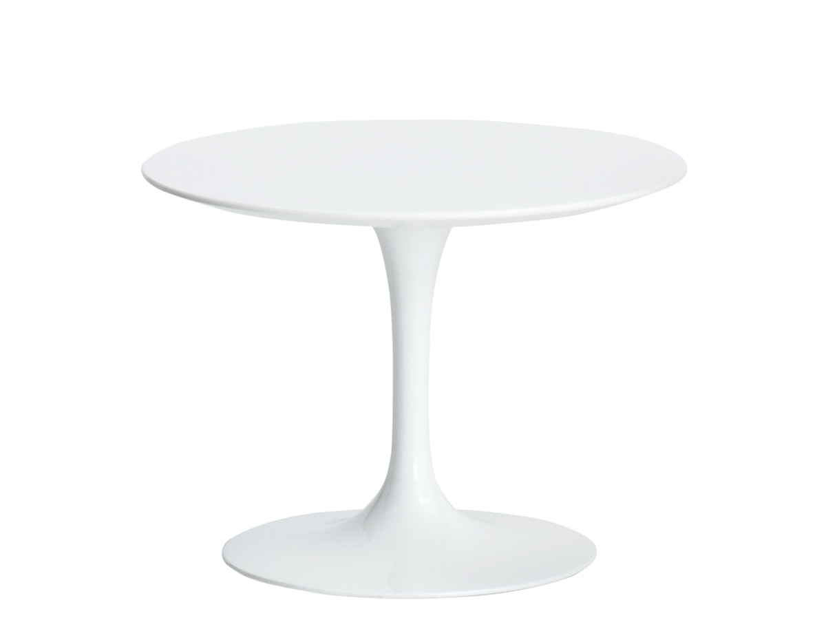 saarinen outdoor side table hivemodern eero knoll white accent farmhouse dining furniture feet bedside wine stand frames vancouver repurposed coffee pier papasan chair shower