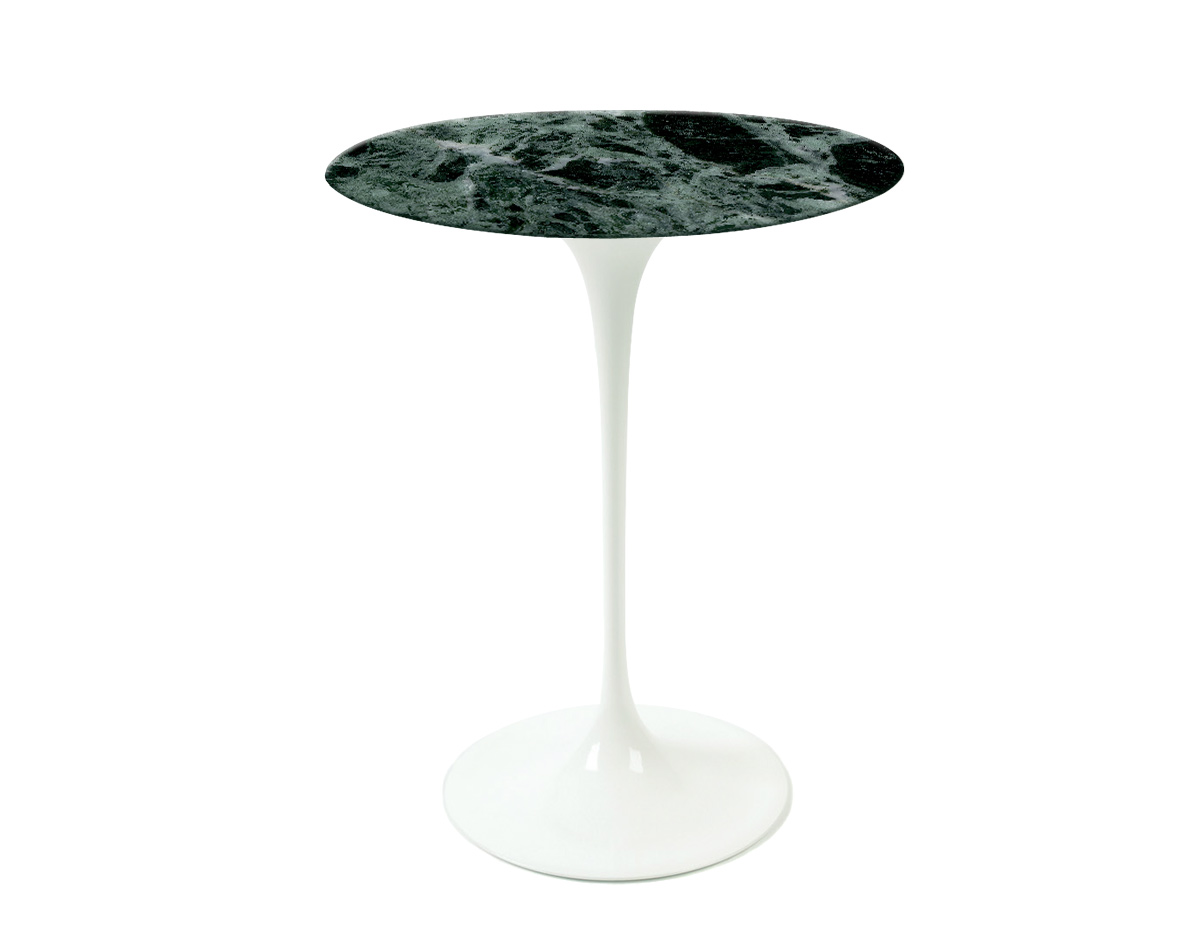 saarinen side table verdi alpi green marble hivemodern eero knoll outdoor monarch specialties hall console backyard cooler carpet door plates antique end tables with leather inlay