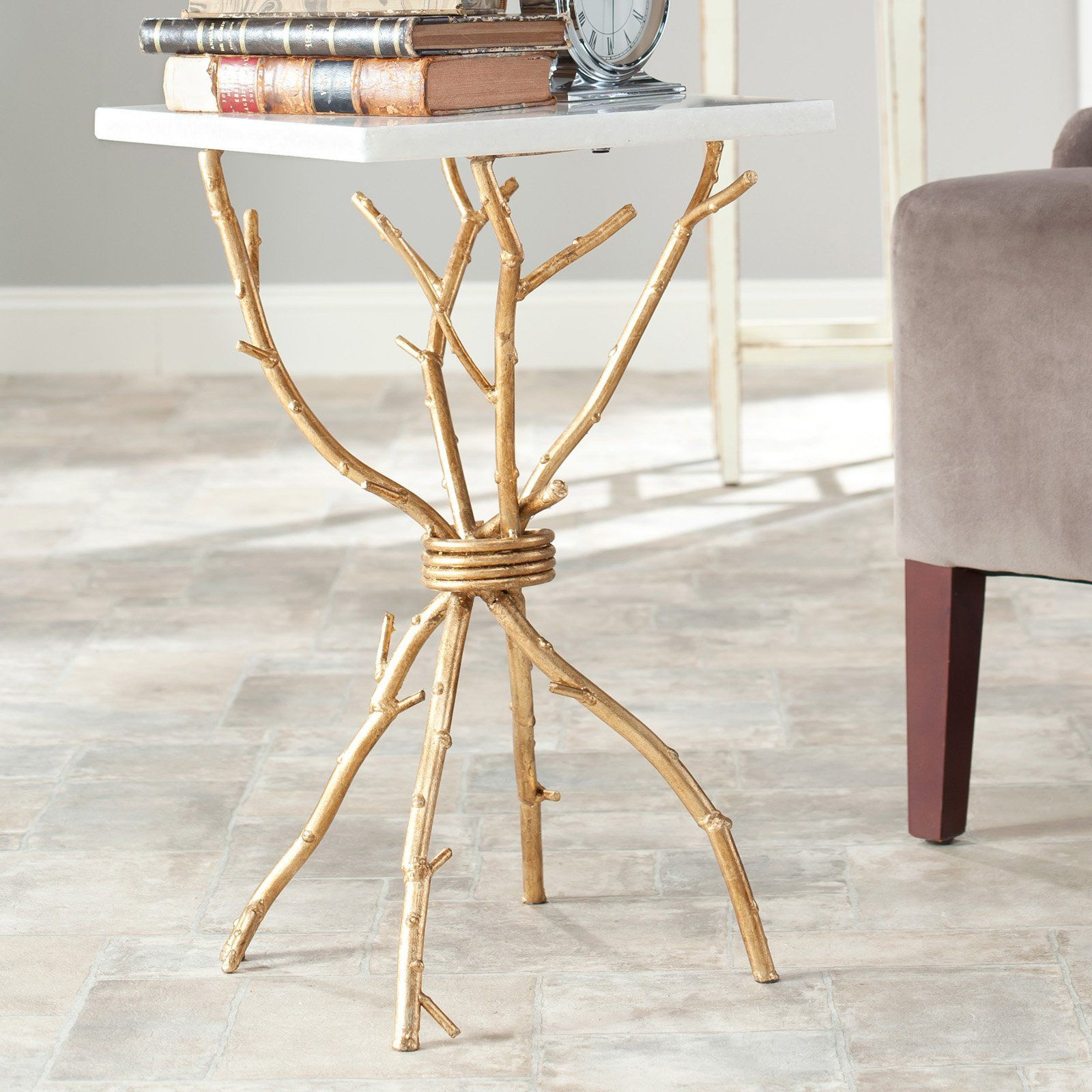 safavieh alexa marble top gold accent table products white tablecloth measurements most popular coffee tables bamboo kitchen chairs black and decorations ifrane end cordless lamps