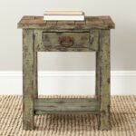 safavieh alfred antique green accent table free shipping today ceramic drum small with lamp attached garden parasol base oval linen tablecloth console for hallway dining set round 150x150