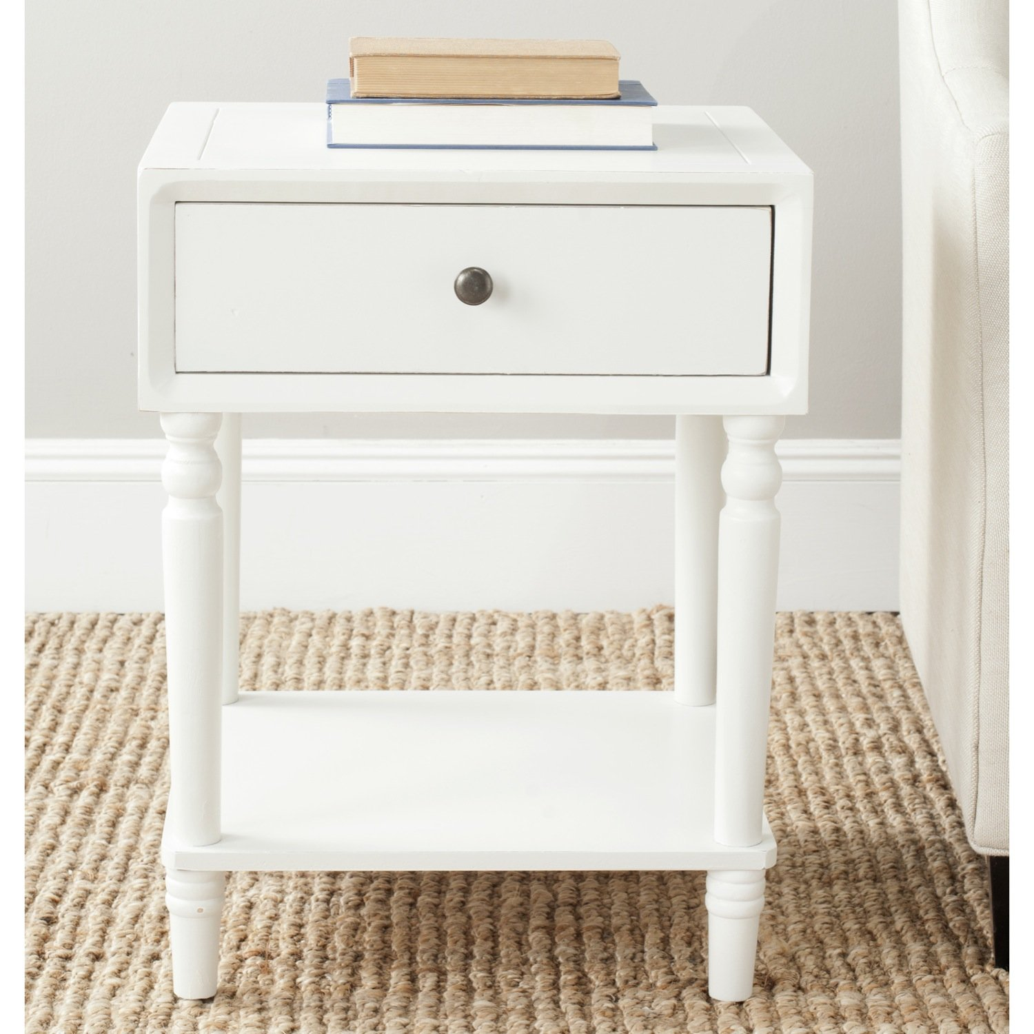 safavieh american homes collection siobhan shady white janika accent table off kitchen dining metal stools target teak rocking chairs barn door closet doors knotty pine wood
