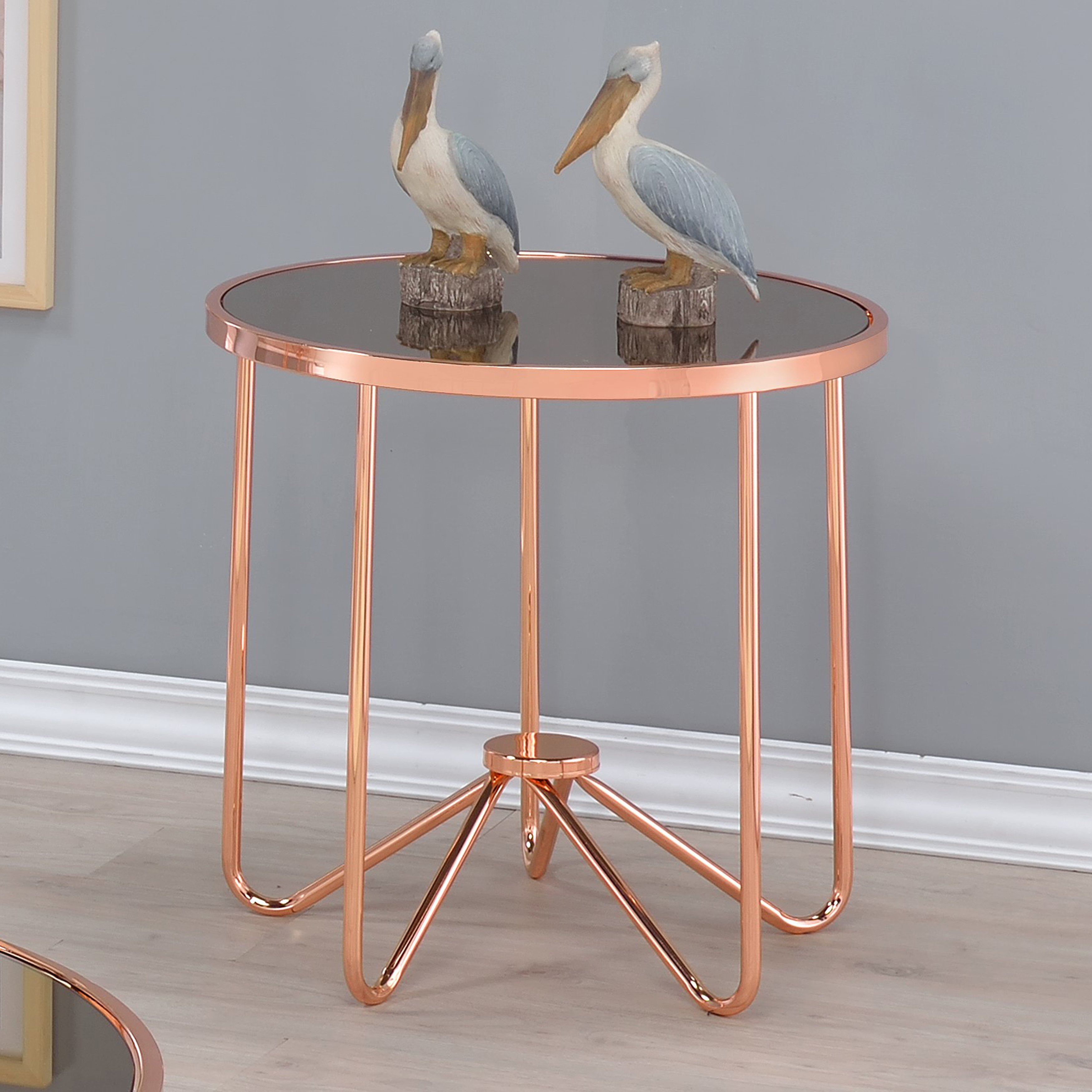 safavieh brogen gold and clear coffee table glass accent acme furniture alivia rose metal tables monarch bentwood with tempered free shipping today round foyer console entryway
