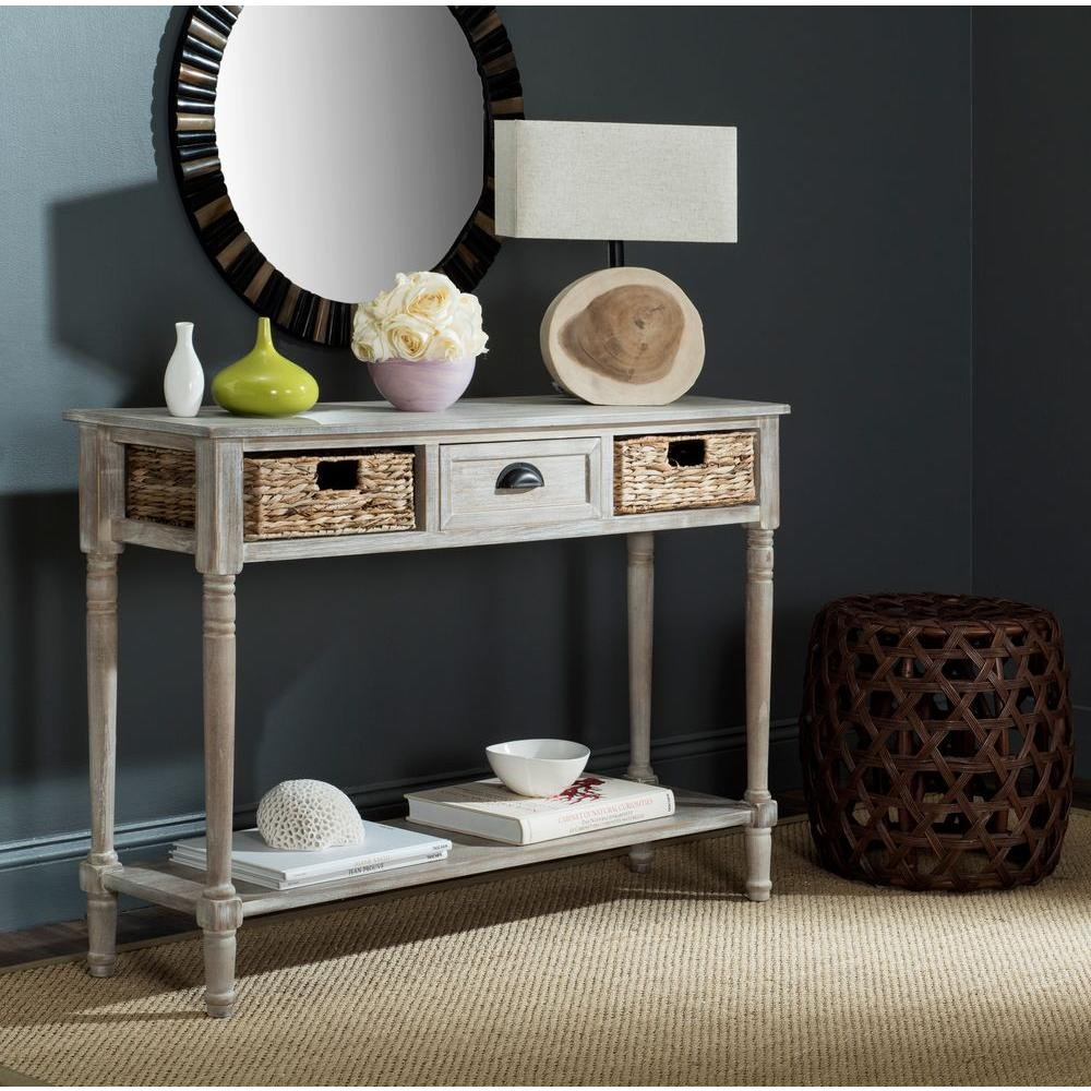 safavieh christa winter melody storage console table the tables eryn accent magnussen bedroom furniture nautical kitchen lighting fixtures canvas patio umbrella room essentials