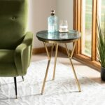 safavieh coletta marble accent table dark green free shipping today waterford lamps white mirrored console dresser round metal side target chestnut owings small modern outdoor 150x150