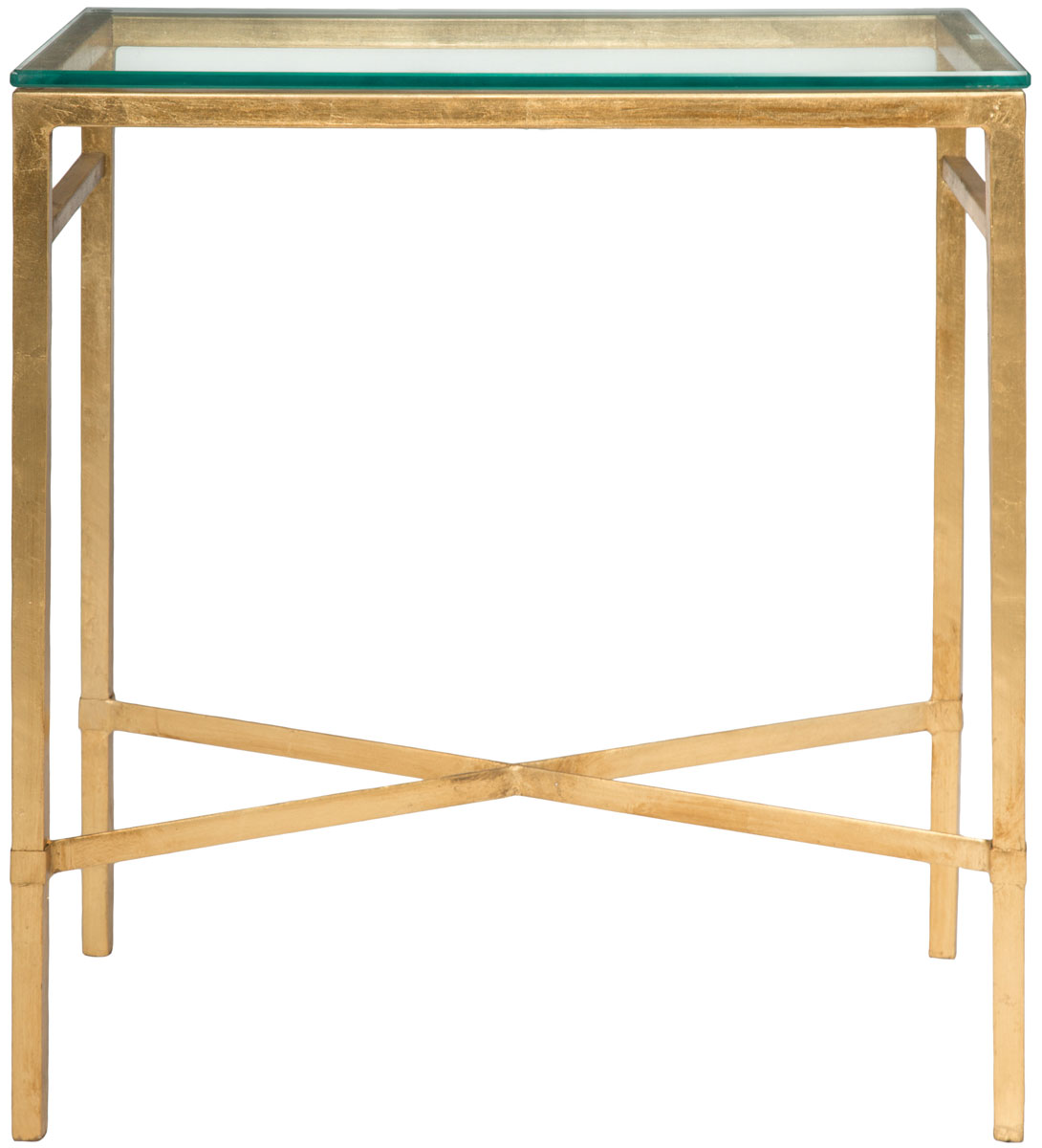 safavieh couture glass top metal accent table with share this product cube coffee wood furniture edmonton tiffany look alike lamps square patio set cover for small living room