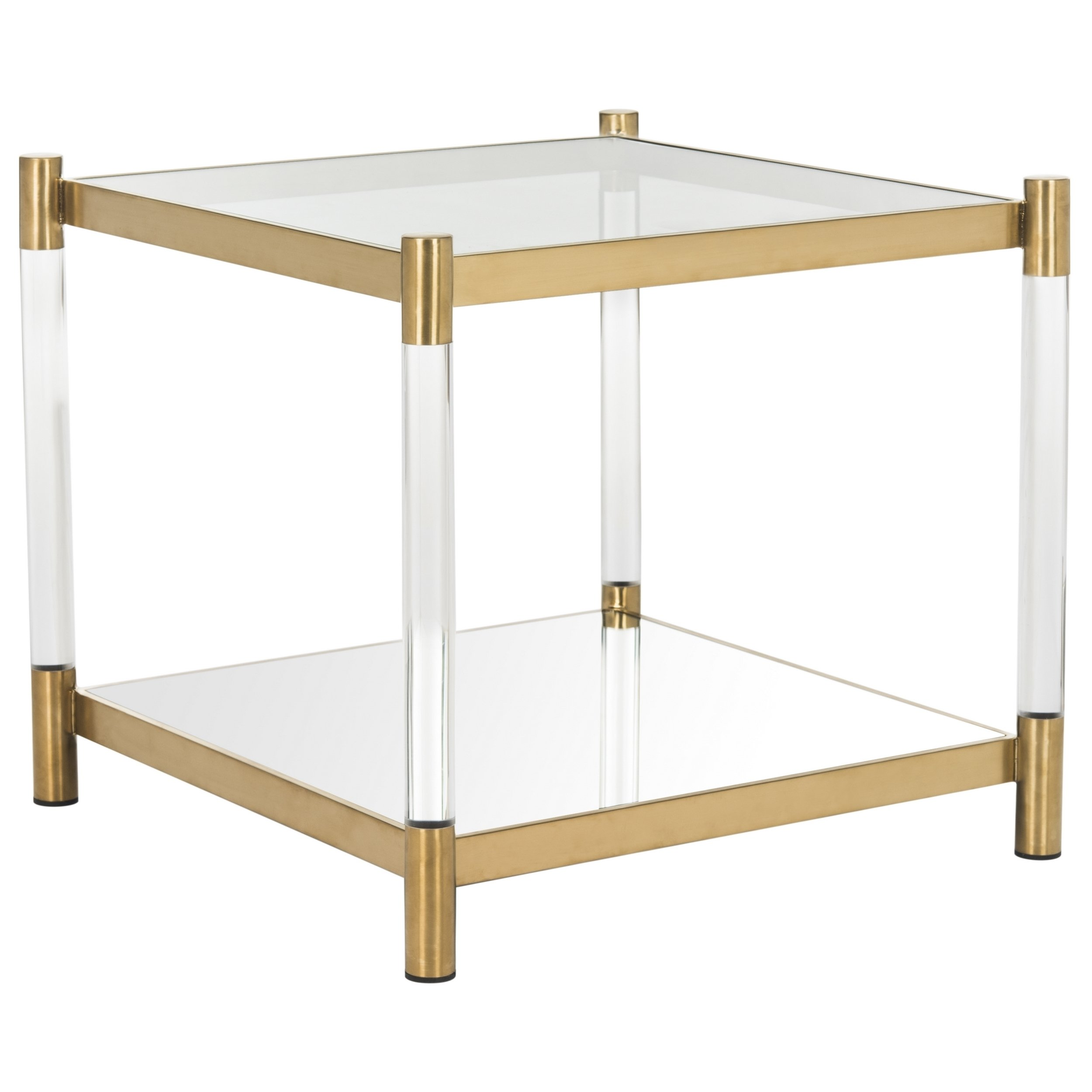 safavieh couture high line collection shayla acrylic accent table prod furniture wellington storage for small spaces metal legs modern gold lamp back living room chair coffee