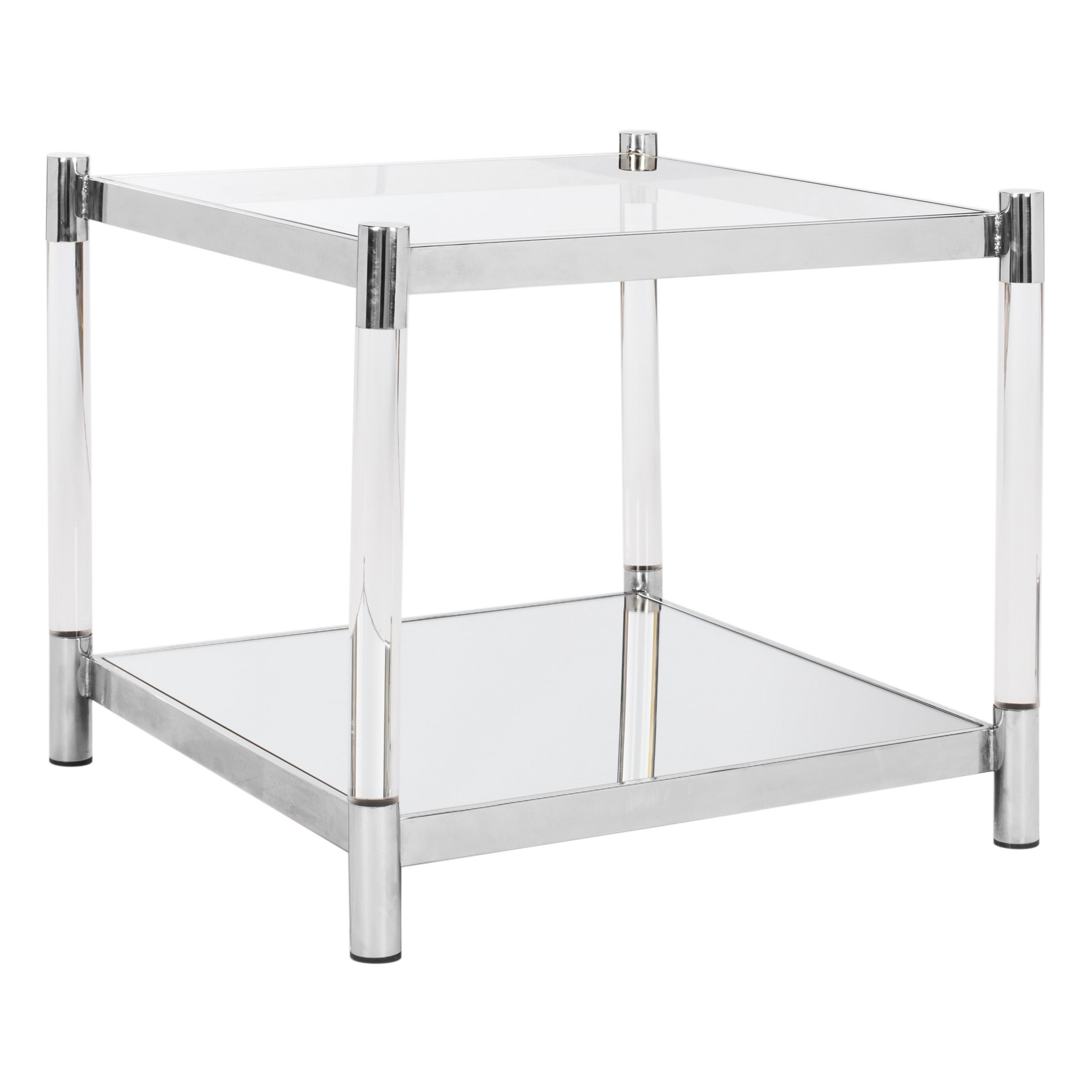 safavieh couture high line collection shayla acrylic silver accent table black free shipping today round marble coffee target three legged bathroom fittings decorative tables