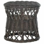 safavieh desta wicker round table inch wide accent white free shipping today lamps for living room chinese garden stool furniture chests and cabinets patio umbrella tile outdoor 150x150