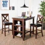 safavieh everest mahogany piece pub set janika accent table outdoor sideboard threshold mirrored modern chairs dinner placemats tall cabinet with glass doors patio dining 150x150