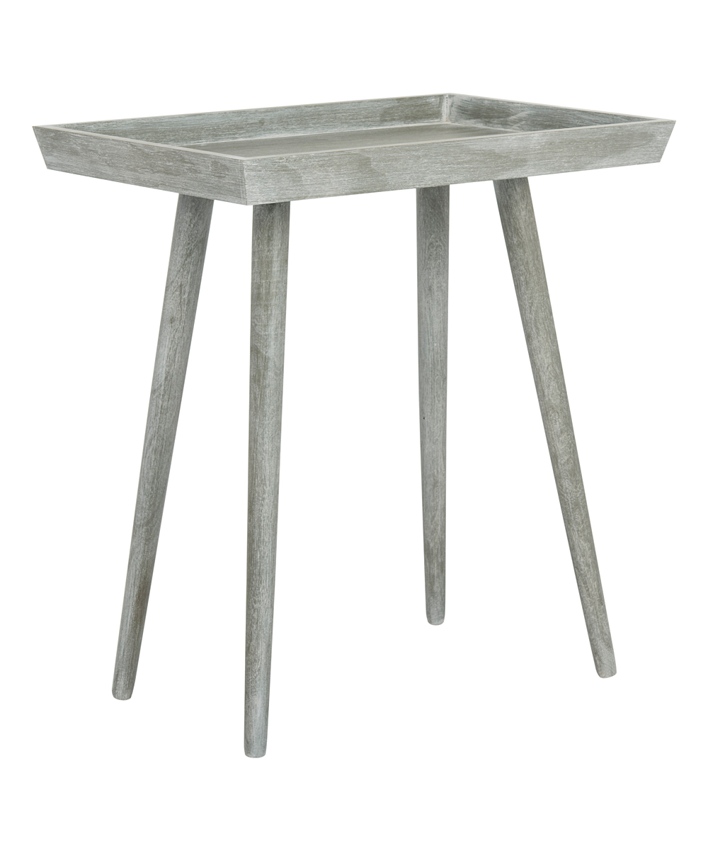 safavieh gray nonie wood accent table zulily main all gone oval glass top kmart desk perspex occasional tables yellow pieces seaside decor farmhouse style dining room chaise