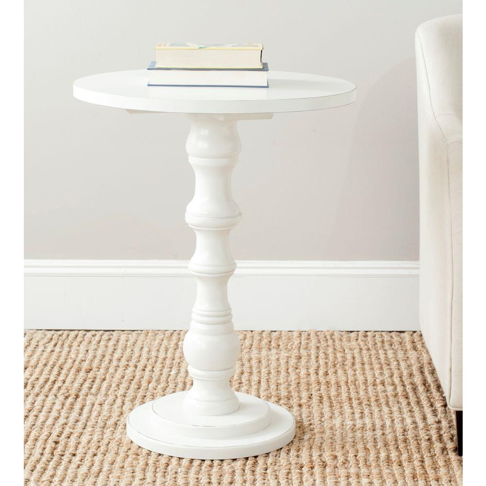 safavieh greta off white end table the shady tables small oval accent narrow sofa with storage patio furniture covers round side turquoise console rustic modern dining room marble