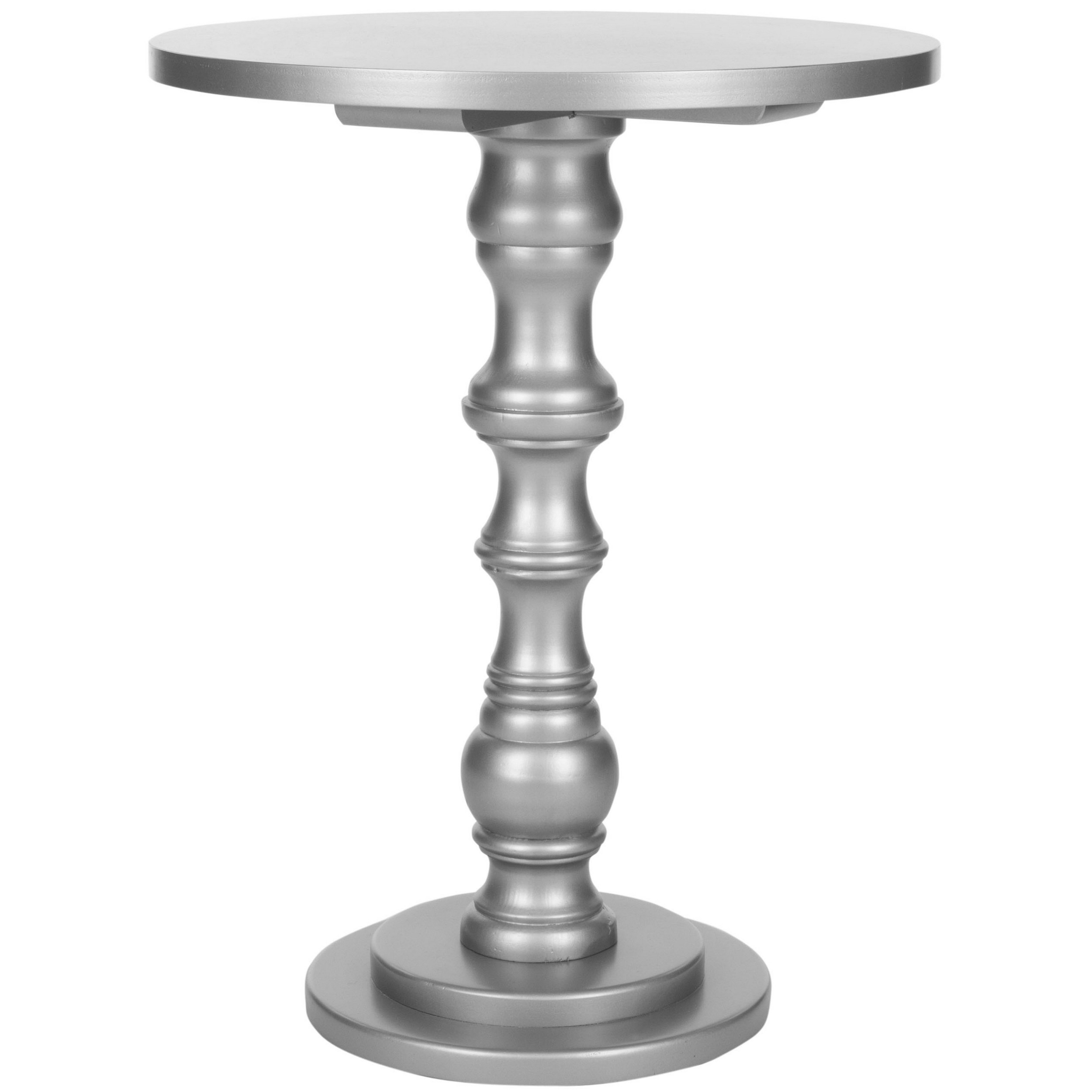 safavieh greta silver accent table free shipping today black wood side industrial end with drawer decorative chairs for living room essentials white outdoor chair umbrella weights