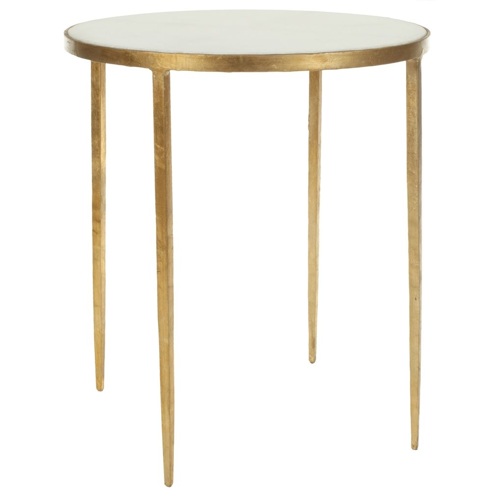 safavieh hidden treasures white granite brass accent table small ping the best coffee sofa end tables king bedding sets ceramic stool trestle with bench and chairs whitewash