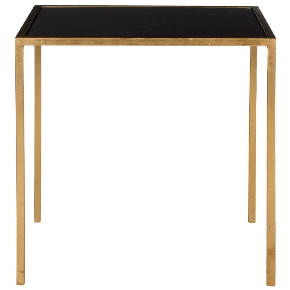 safavieh home collection kiley gold accent table black end tables holland furniture couches edmonton solid wood sofa west elm floor cushion light blue chair gray target concrete