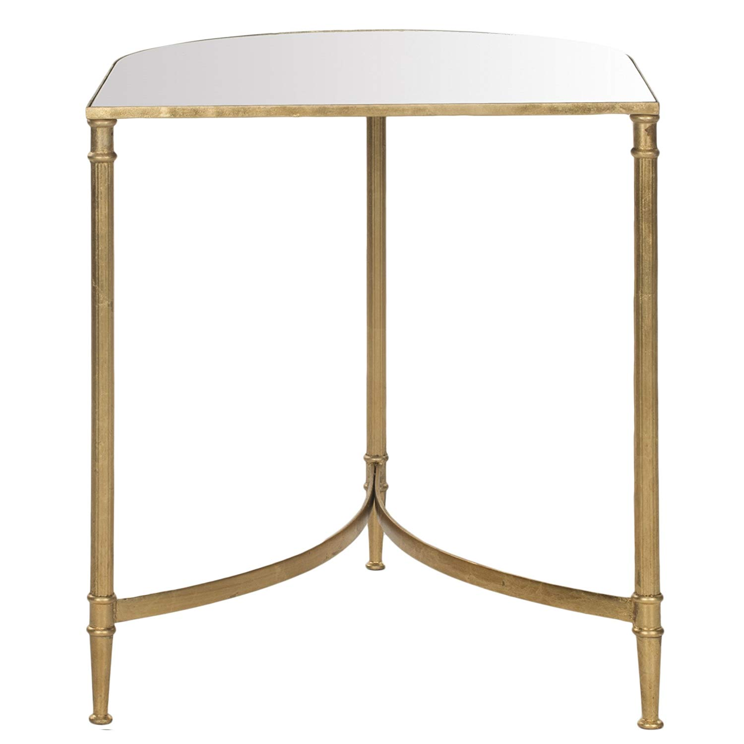 safavieh home collection nevin gold accent table kitchen dining entry for small spaces oak bar rustic metal and wood end tables beach chairs bunnings accents dishes mid century