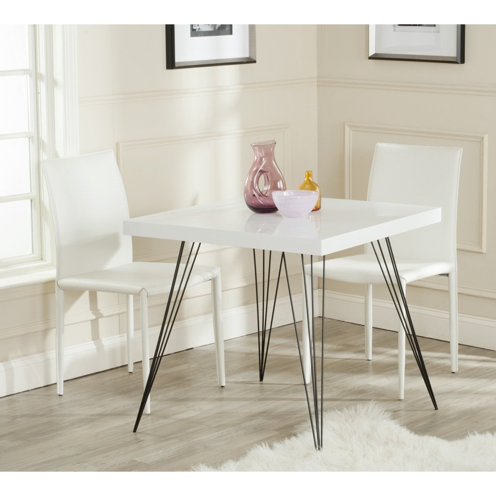 safavieh home collection wolcott mid century modern wbul accent table white and black tables patio furniture clearance pier one imports side bedroom nightstand lamps tablecloth