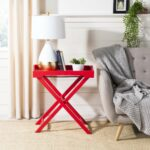 safavieh leo hot red accent table free shipping today wood rustic couch winsome pottery barn industrial inch round tablecloth room essentials gray dining chairs side with drawers 150x150