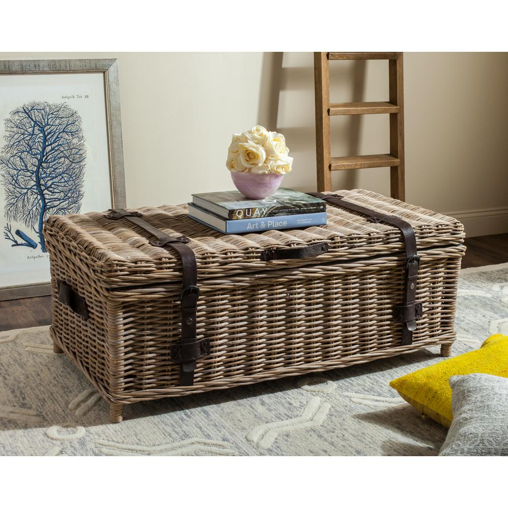 safavieh navarro rattan gray coffee table trunk the home tables wicker end accent for small spaces banquet dimensions pipe pub furniture fair argos folding chair plan ideas round