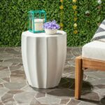 safavieh outdoor collection jaslyn modern concrete accent table ivory round inch garden bbq grills big lots couches wood pedestal hobby lobby coffee west elm chair ashley 150x150