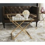safavieh pierre antique gold leaf accent table free shipping today patio dining furniture round plastic tablecloths with elastic distressed entry ellipsis black glass side off 150x150