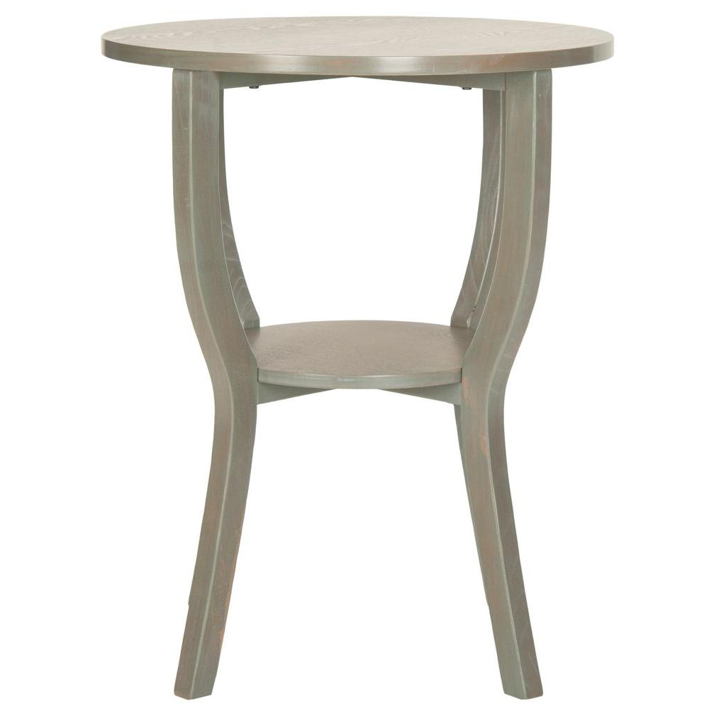 safavieh rhodes french grey end table the gray tables wood accent target outdoor seat covers patio conversation sets clearance winchester furniture makeup wicker basket lamp