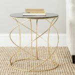safavieh treasures cagney gold black top accent table ping great coffee sofa end tables antique marble side red metal furniture bags modern edmonton breakfast house designs grinch 150x150