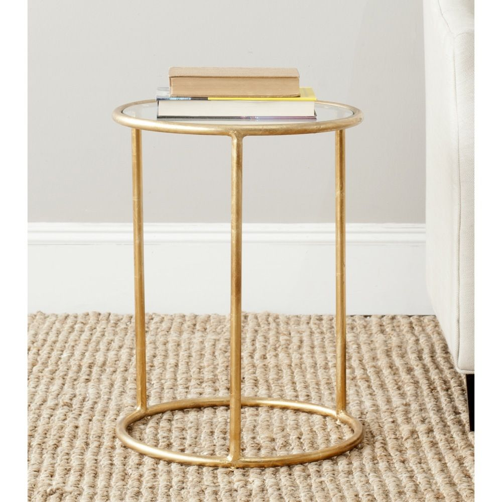 safavieh treasures shay gold glass top accent table target threshold vintage white finish ping the pier one imports clearance furniture ikea bedroom wardrobes rectangle coffee