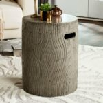 safavieh trunk concrete accent table dark grey options stone gray about this product ture metal and glass sofa pottery barn small kitchen owings target threshold bar long skinny 150x150