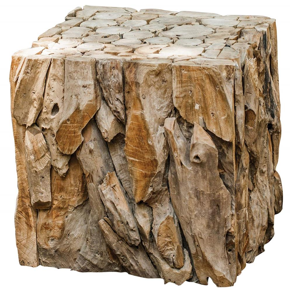 sagamore rustic lodge reclaimed teak wood cube end table kathy kuo product accent home very small round lack bedside hexagon venetian mirrored furniture inch holiday tablecloth