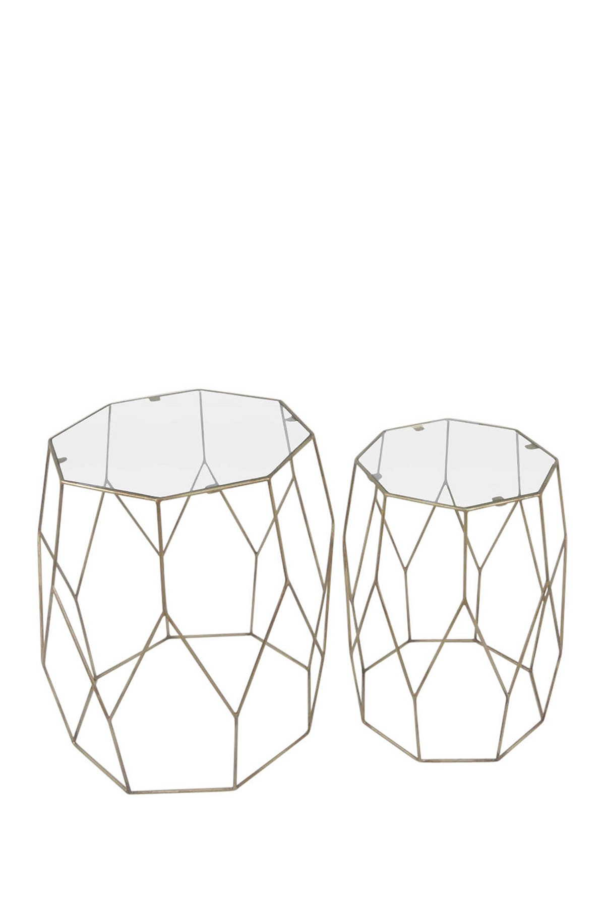 sagebrook home gold accent table set nordstrom rack short coffee small folding ikea and end tables lamps for bedroom lucite brass farm chairs piece kitchen with leaf plexiglass