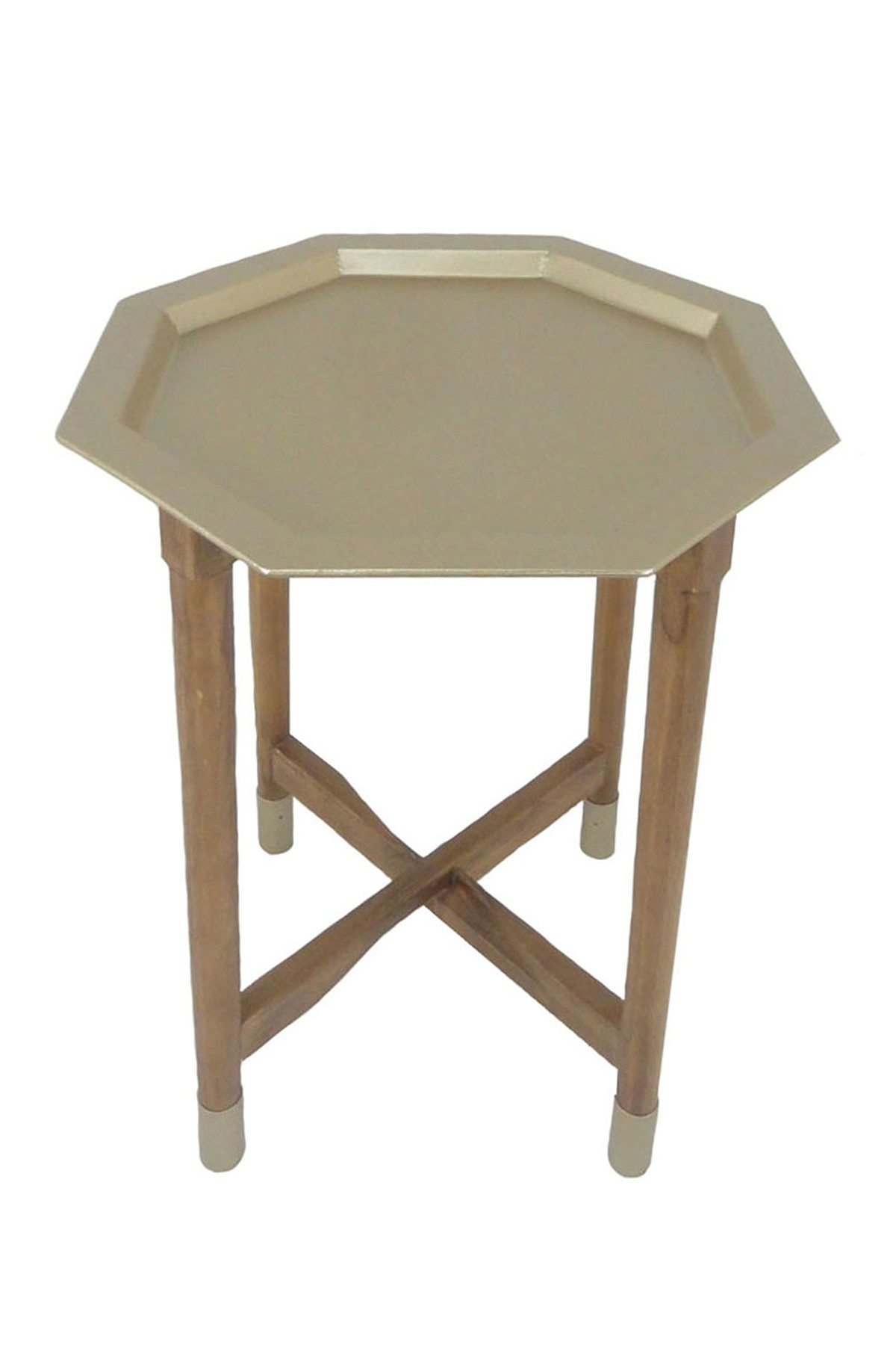 sagebrook home gold metal tray top accent table nordstrom rack bistro tablecloths round trend furniture foyer pedestal console inch sofa nate berkus glass agate pier coupon code